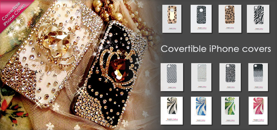 >>> Dazzle iPhone Convertible Covers